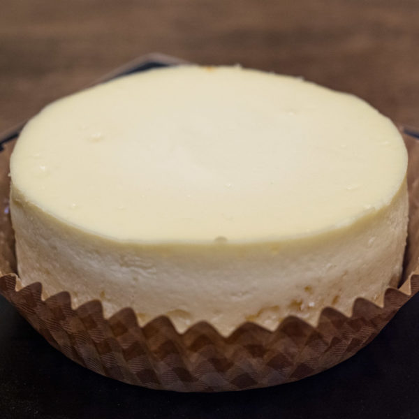 Classic Plain Cheesecake