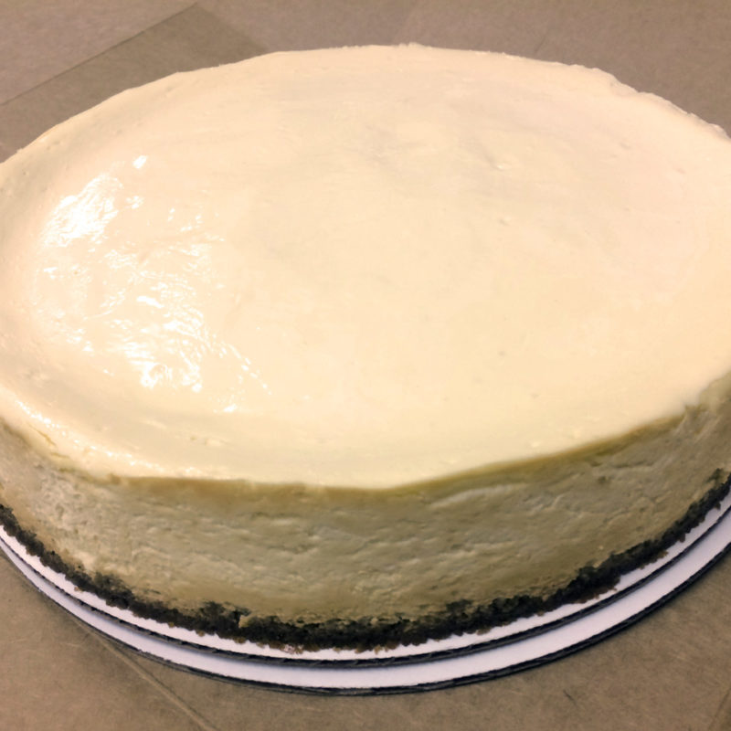 Classic Plain Cheesecake